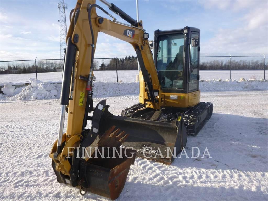 Caterpillar 304.5E2XTC、クローラー式油圧ショベル(パワーショベル・ユンボ)、建設