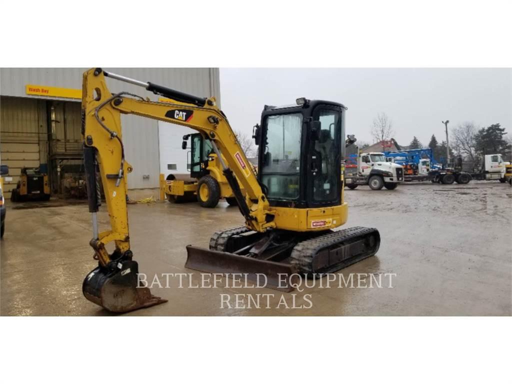 Caterpillar 304 D CR, Excavadoras de cadenas, Construcción