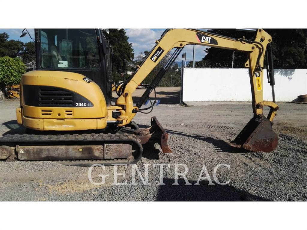 Caterpillar 304CCR, Crawler Excavators, Construction