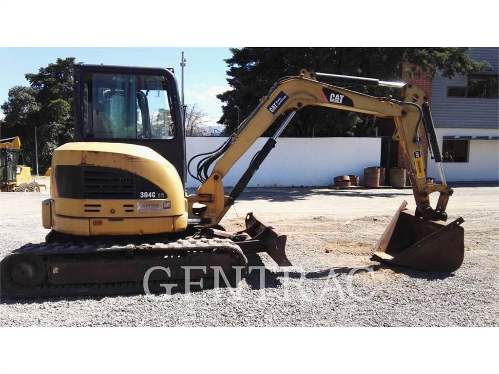Caterpillar 304CCR, Excavadoras de cadenas, Construcción