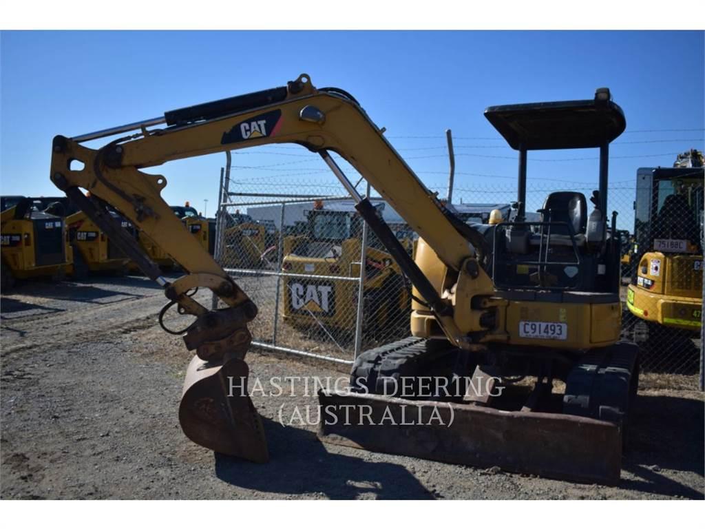 Caterpillar 304CCR, Excavatoare pe senile, Constructii