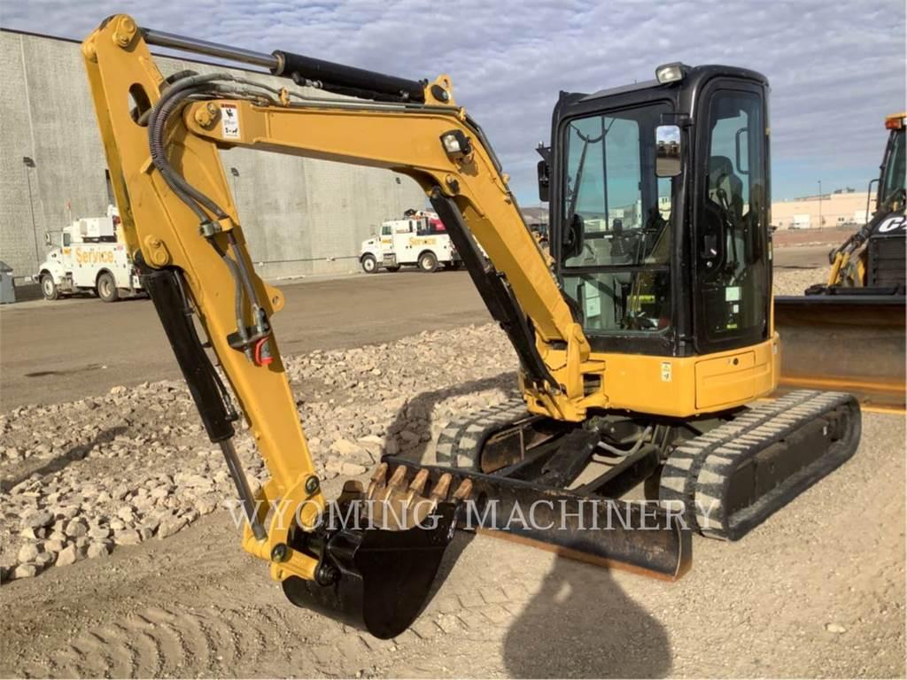 Caterpillar 304D CR, Excavadoras de cadenas, Construcción