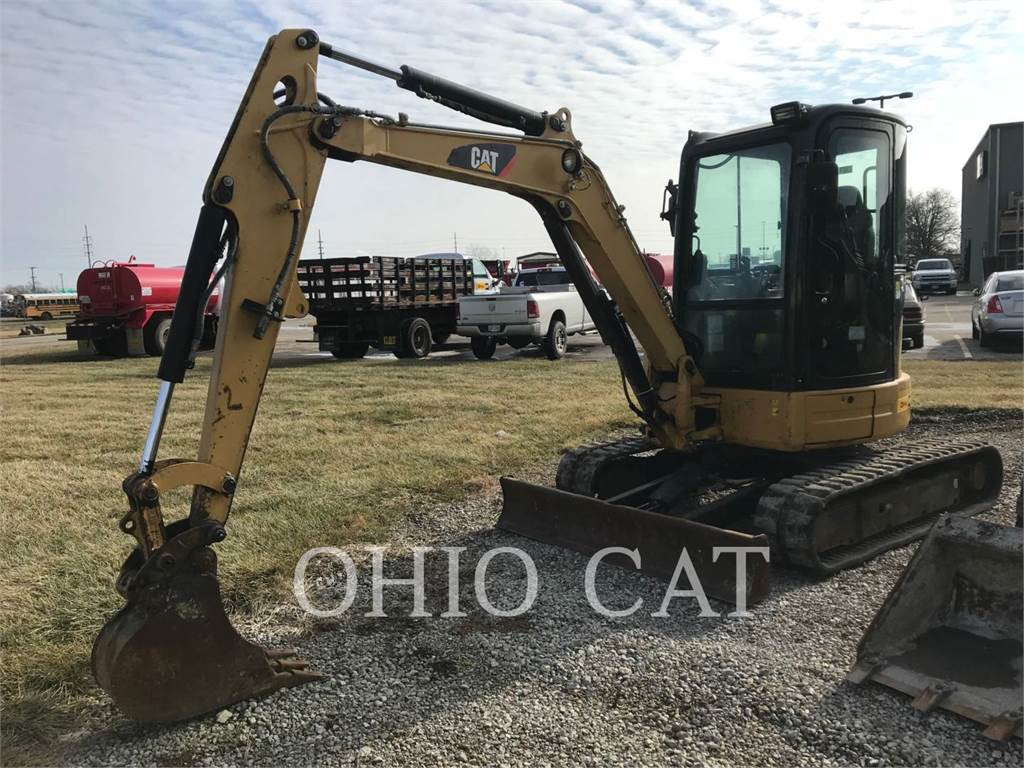 Caterpillar 304D CR 3, Crawler Excavators, Construction
