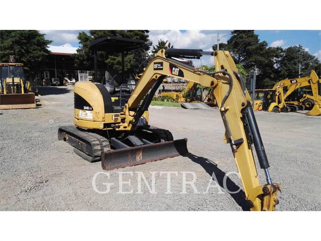 Caterpillar 304DCR, Excavadoras de cadenas, Construcción
