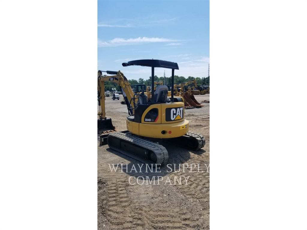 Caterpillar 304DCR, Crawler Excavators, Construction