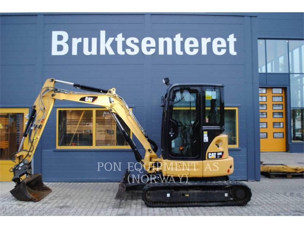 Caterpillar 304E, Escavadoras de rastos, Equipamentos Construção