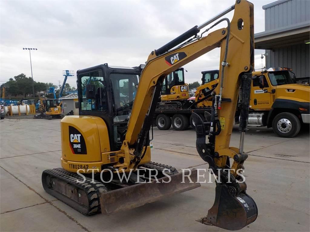 Caterpillar 304E CAB, Crawler Excavators, Construction