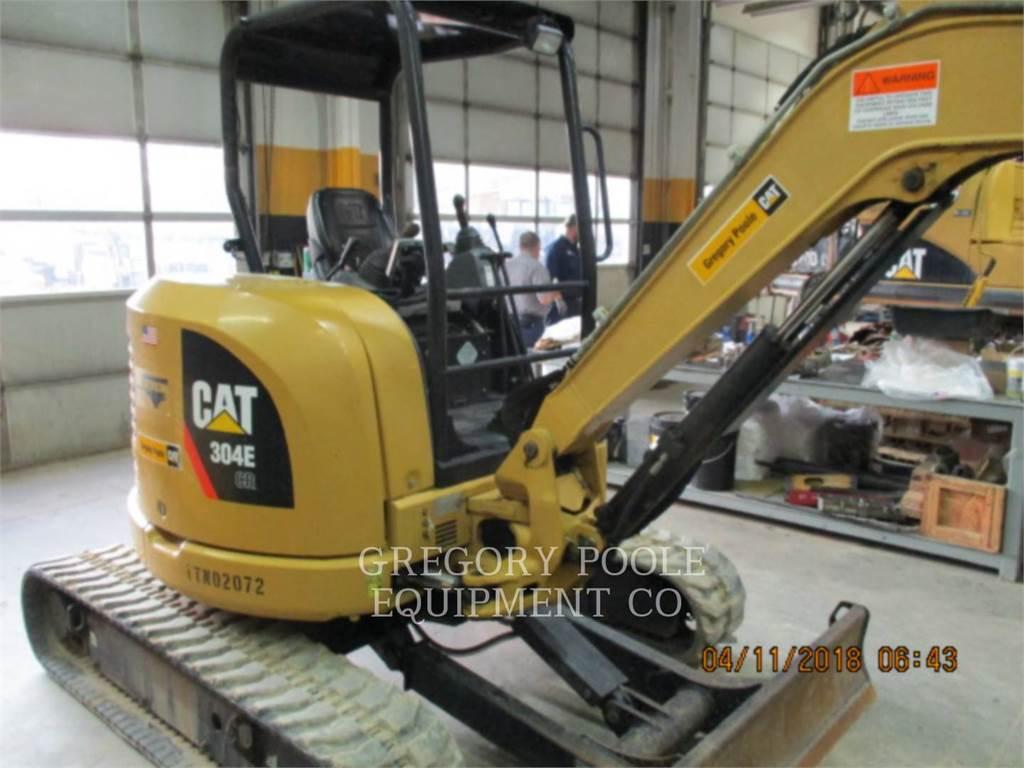 Caterpillar 304E CR, Koparki gąsienicowe, Sprzęt budowlany