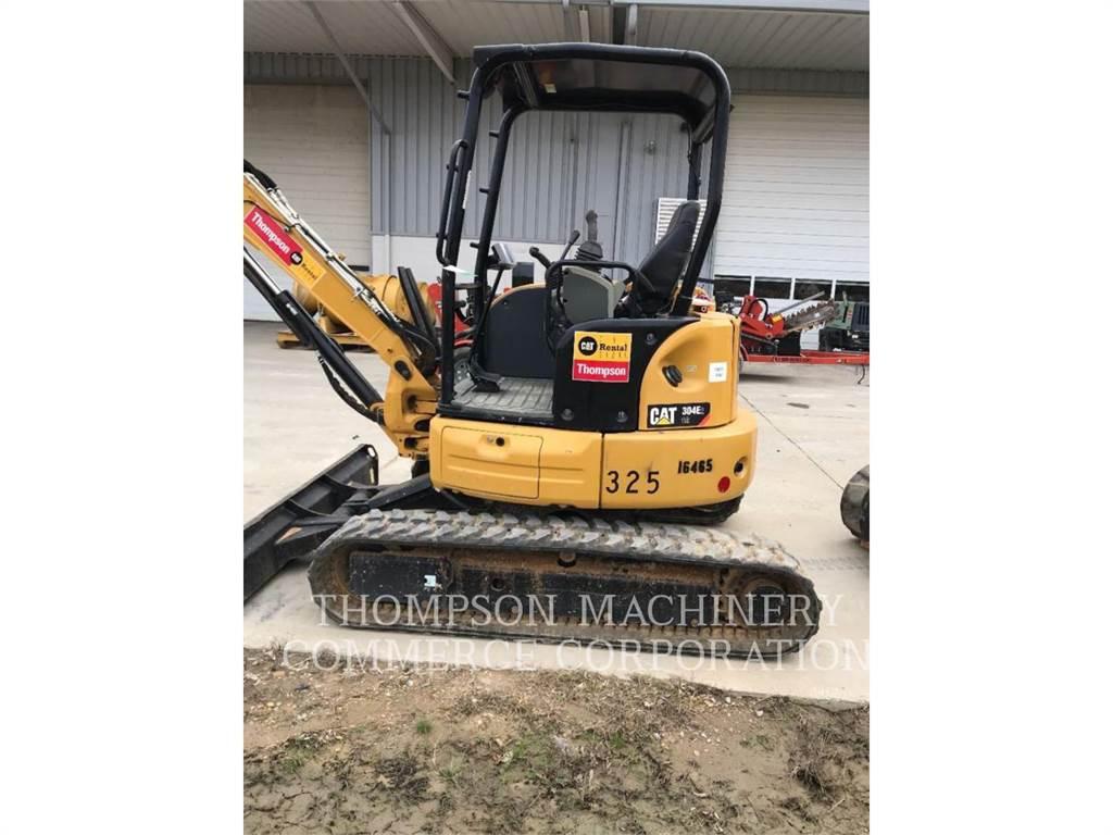 Caterpillar 304E2, Excavadoras de cadenas, Construcción