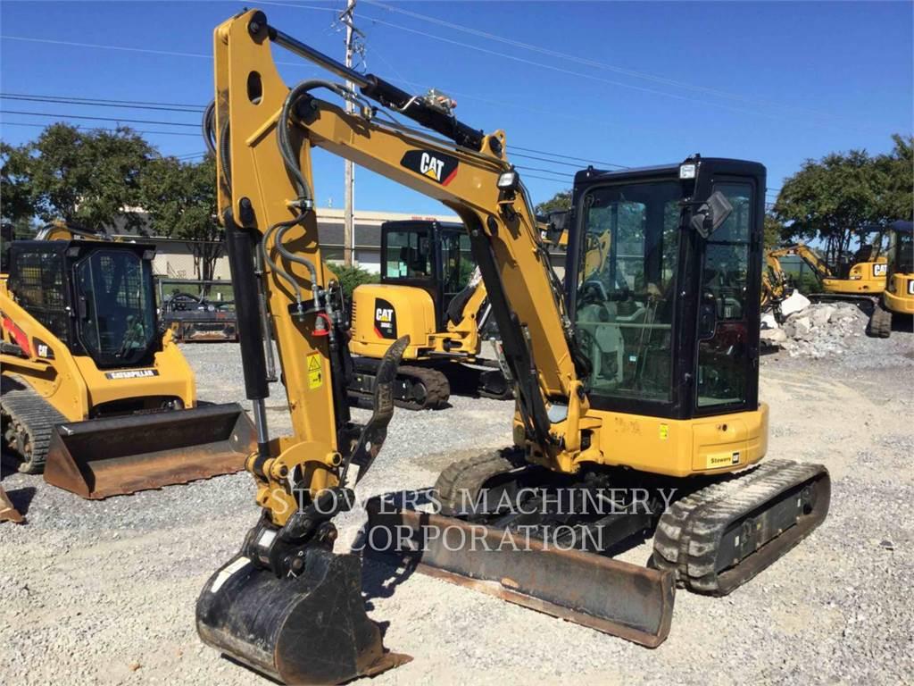 Caterpillar 304E2, Excavatoare pe senile, Constructii