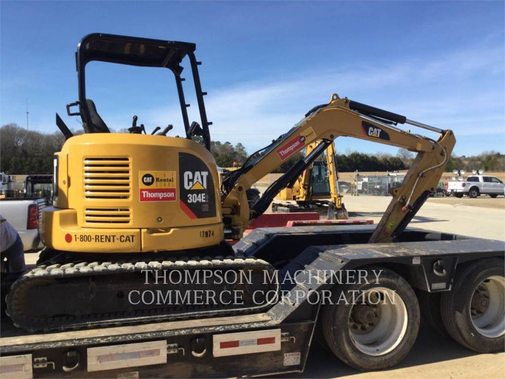 Caterpillar 304E2, Crawler Excavators, Construction