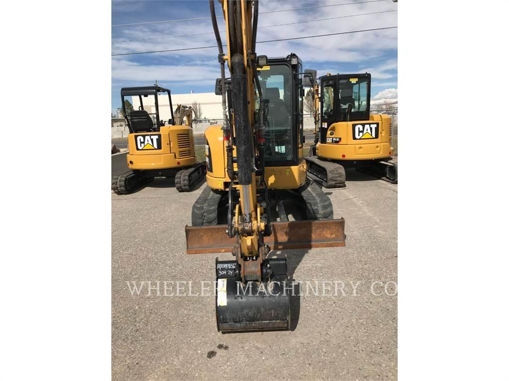 Caterpillar 304E2 C3, Excavadoras de cadenas, Construcción