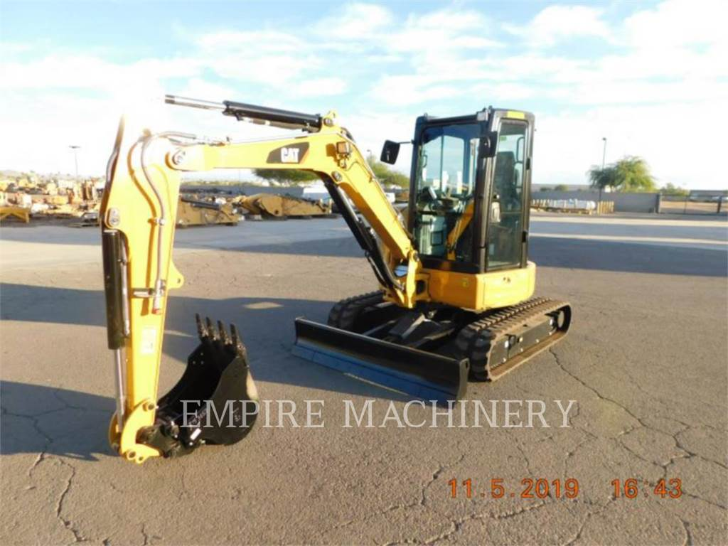 Caterpillar 304E2 CA, Rupsgraafmachines, Bouw
