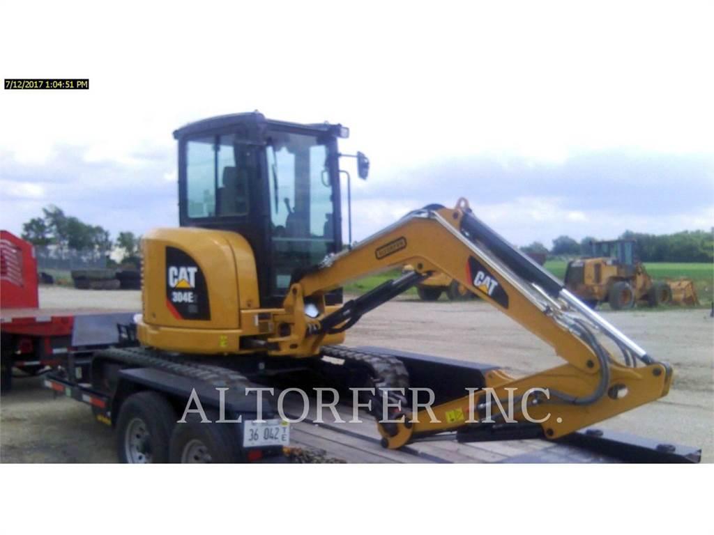 Caterpillar 304E2 CR、履带挖掘机、建筑设备