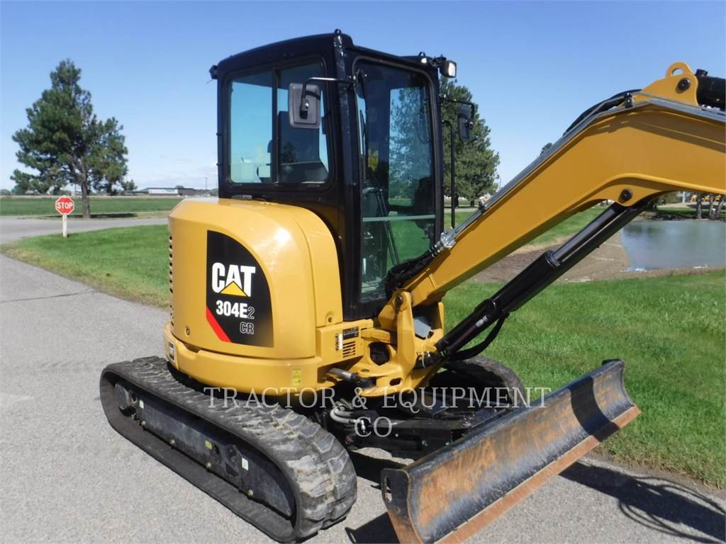 Caterpillar 304E2 CRCB, Crawler Excavators, Construction