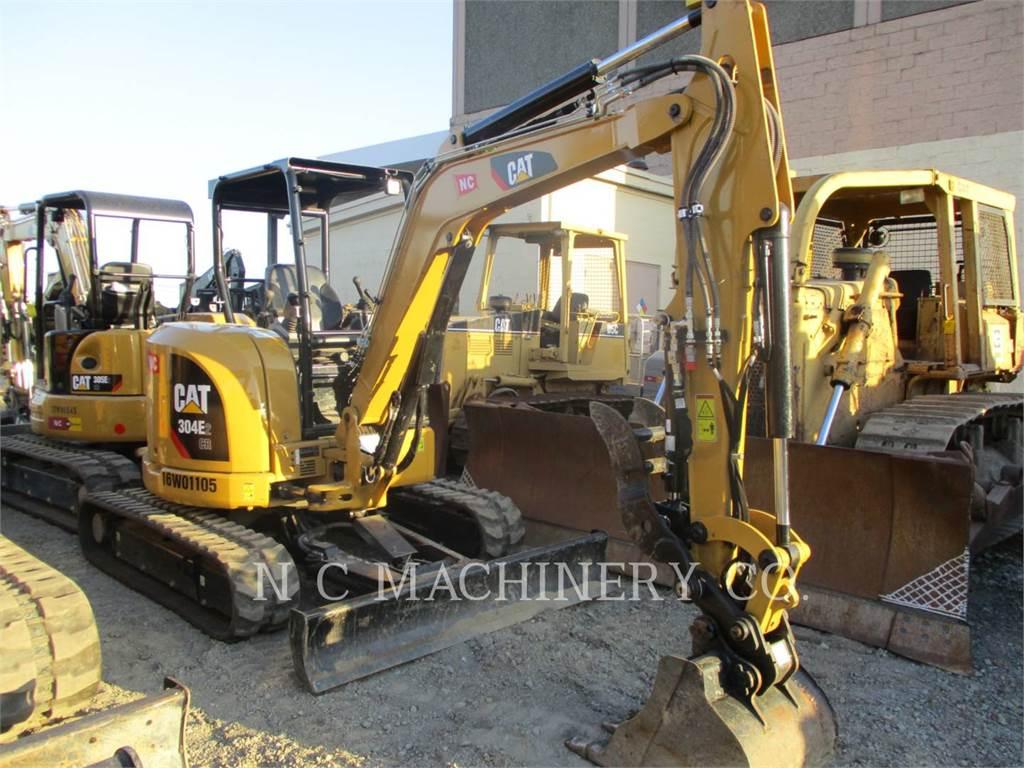 Caterpillar 304E2 CRCN, Crawler Excavators, Construction