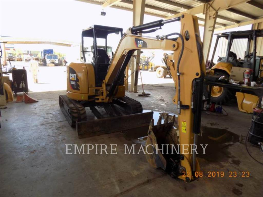 Caterpillar 304E2 OR, Excavadoras de cadenas, Construcción