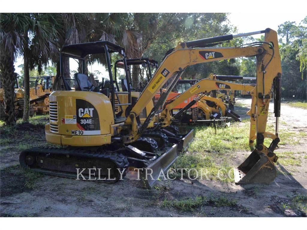Caterpillar 304E2CR, Koparki gąsienicowe, Sprzęt budowlany