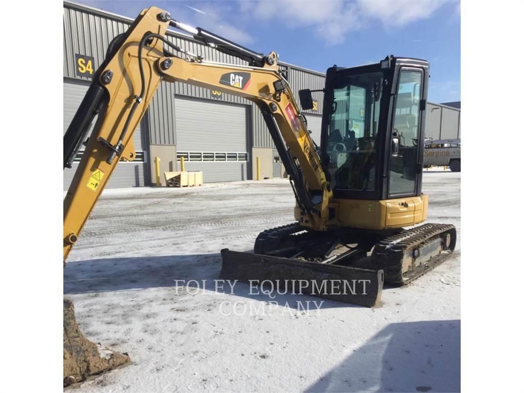 Caterpillar 304E2CR, Excavadoras de cadenas, Construcción