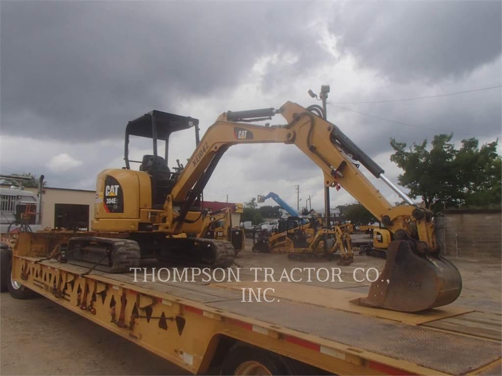 Caterpillar 304E2CR, Excavatoare pe senile, Constructii