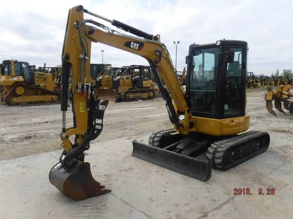 Caterpillar 304E2CR, Rupsgraafmachines, Bouw