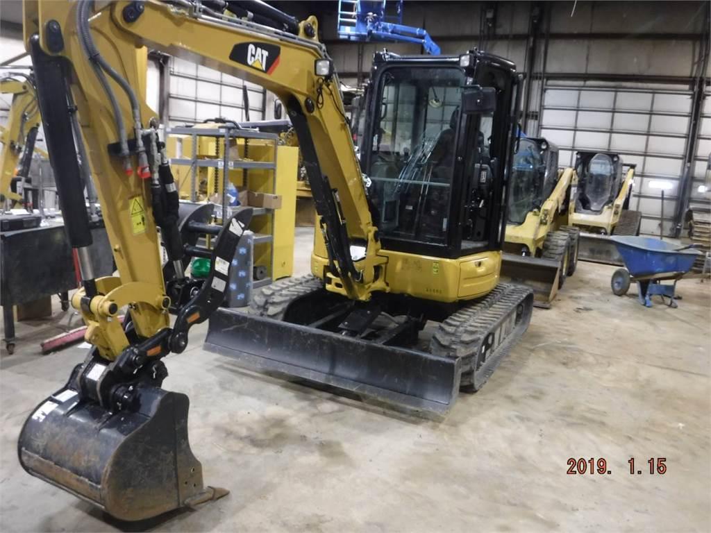 Caterpillar 304E2CR, Pelle sur chenilles, Équipement De Construction