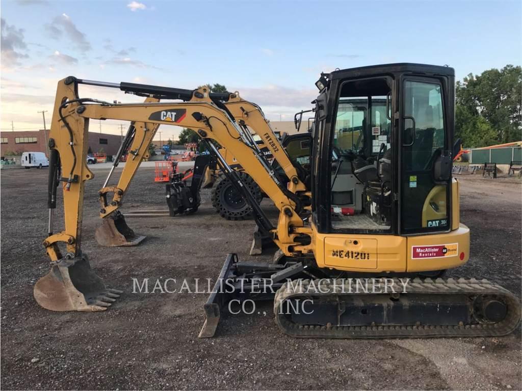 Caterpillar 304E2CR, Escavadoras de rastos, Equipamentos Construção