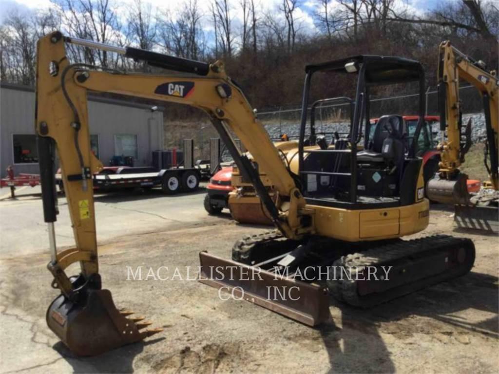 Caterpillar 304ECR、クローラー式油圧ショベル(パワーショベル・ユンボ)、建設