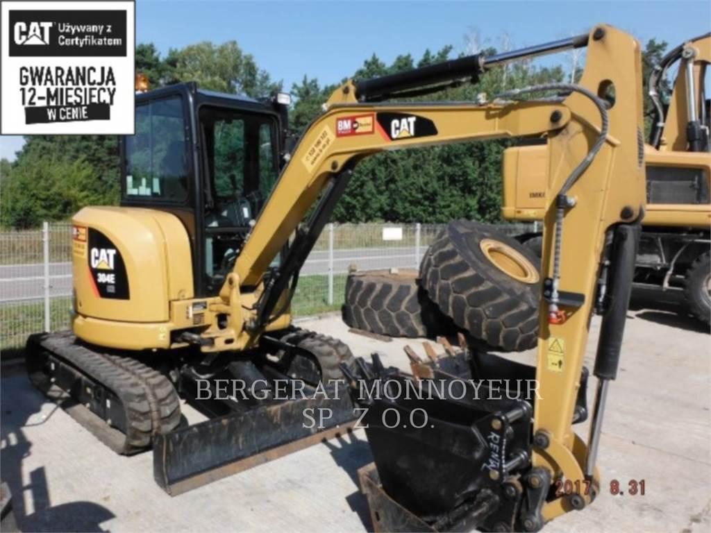 Caterpillar 304ECR, Pelle sur chenilles, Équipement De Construction