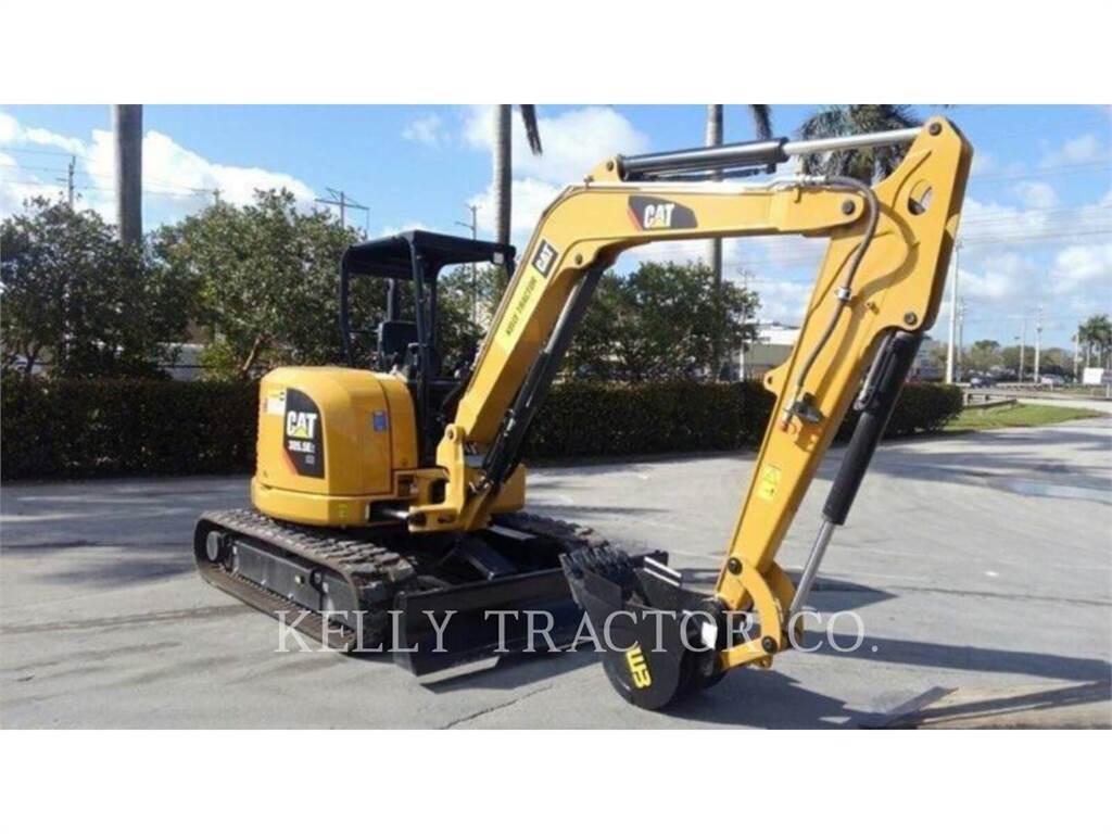 Caterpillar 305.5 E2 CR, Crawler Excavators, Construction