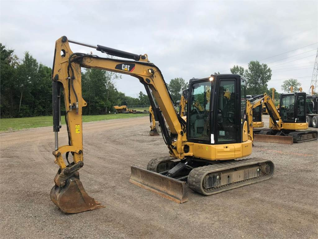 Caterpillar 305.5 E2 CR, Crawler Excavators, Construction
