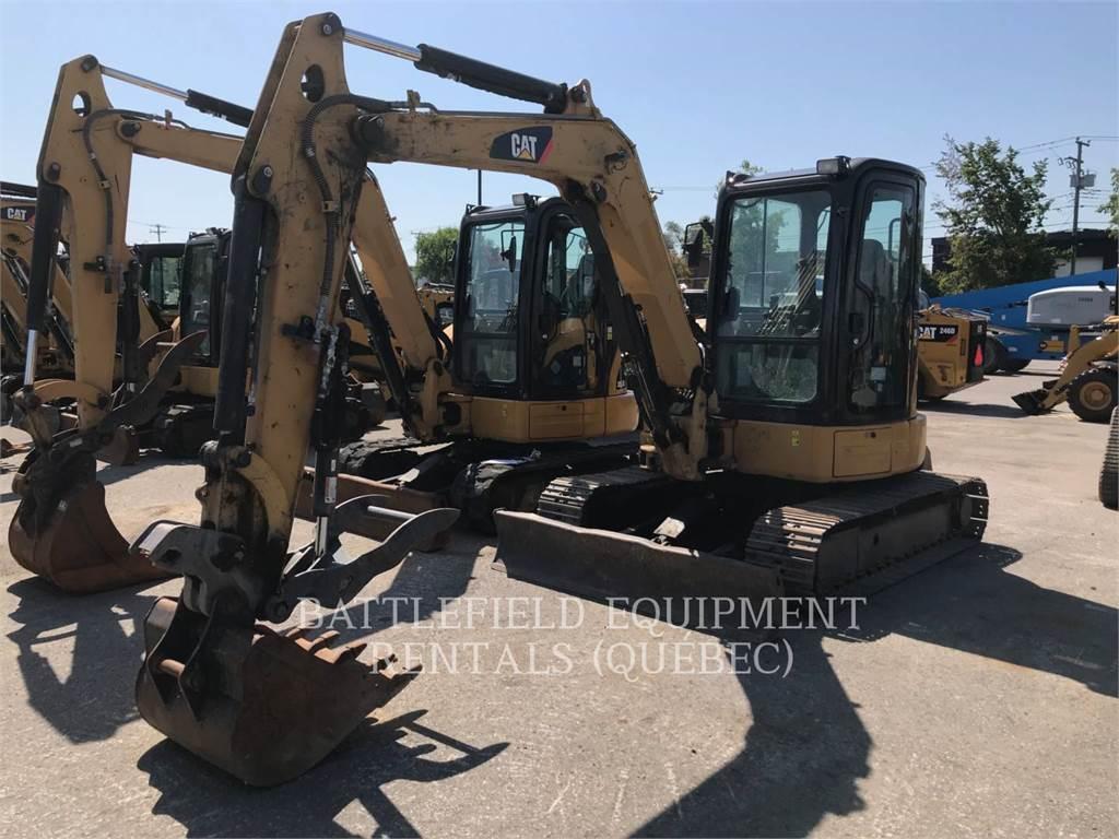 Caterpillar 305.5D CR, Escavadoras de rastos, Equipamentos Construção