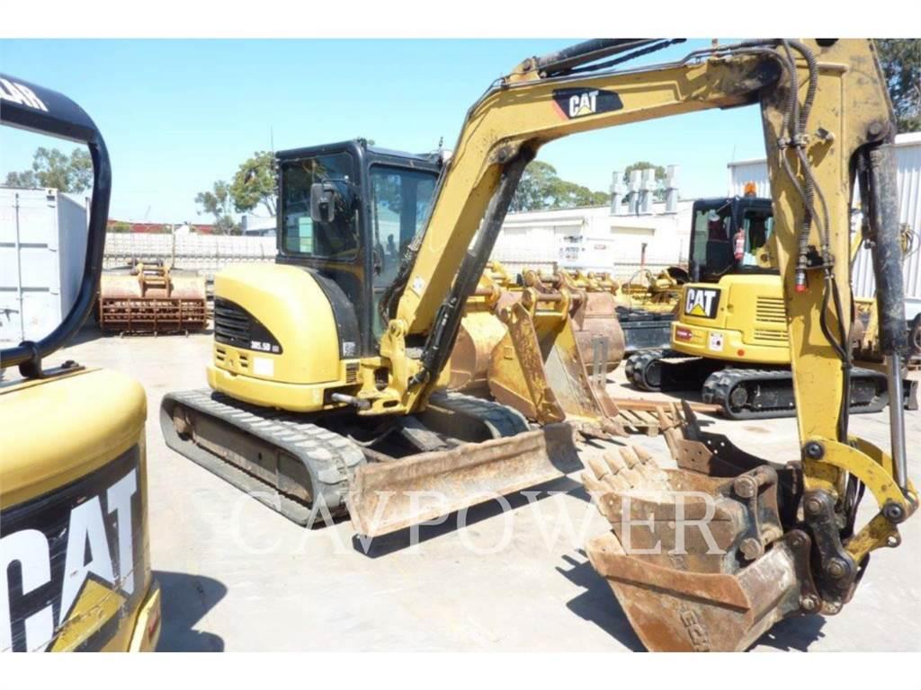 Caterpillar 305.5DCR、履带挖掘机、建筑设备
