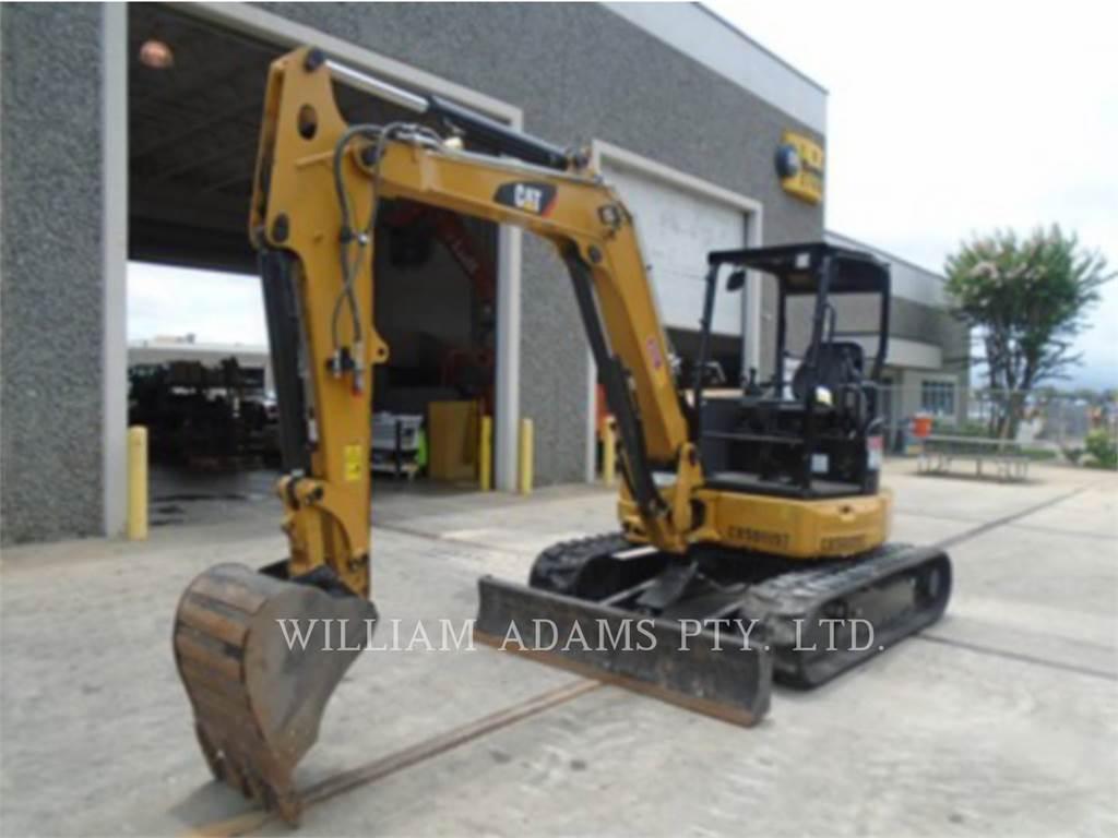 Caterpillar 305.5E, Excavadoras de cadenas, Construcción
