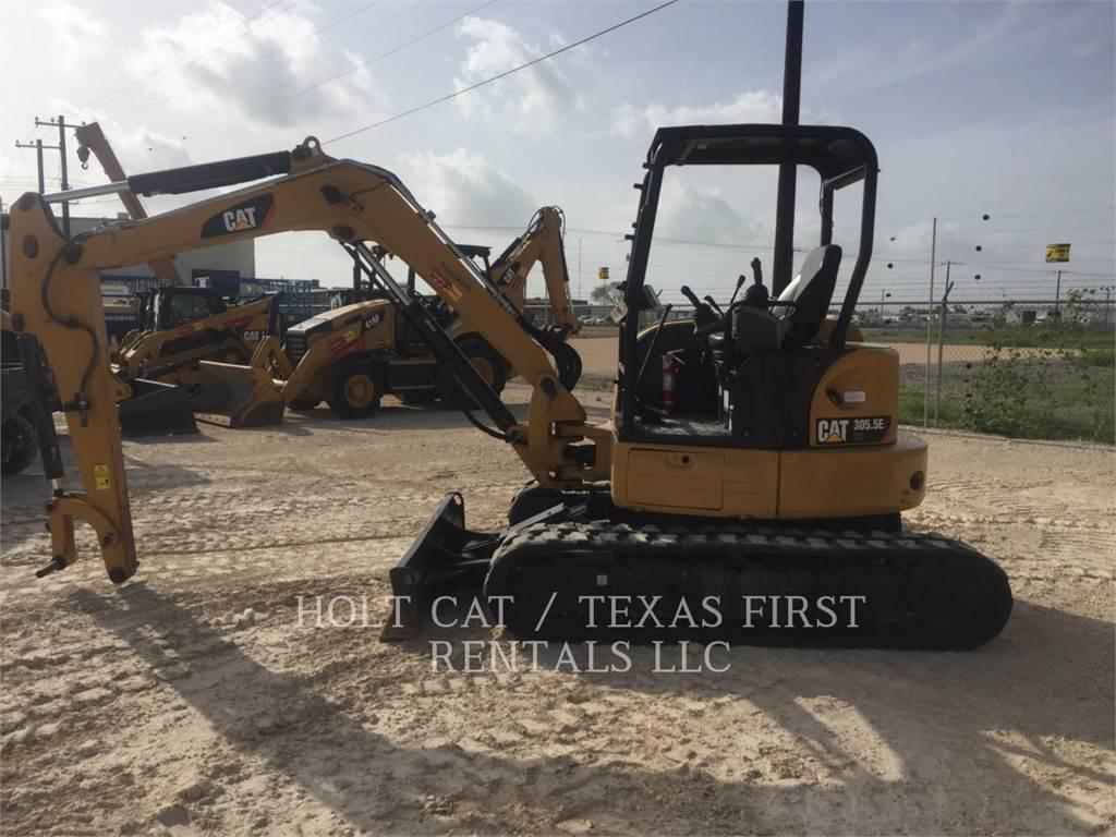 Caterpillar 305.5E CR, Pelle sur chenilles, Équipement De Construction