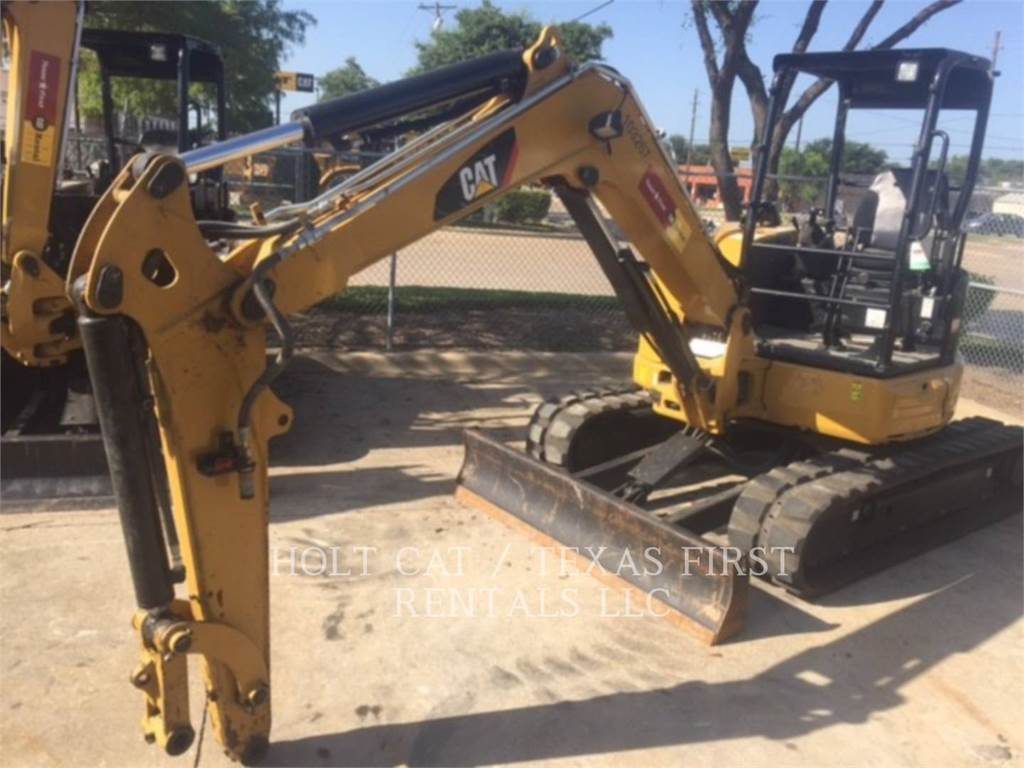 Caterpillar 305.5E CR, Rupsgraafmachines, Bouw