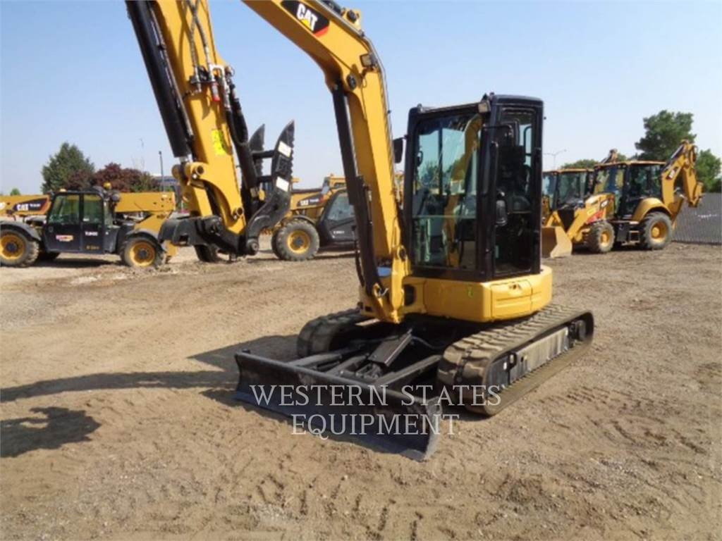 Caterpillar 305.5E2, Crawler Excavators, Construction