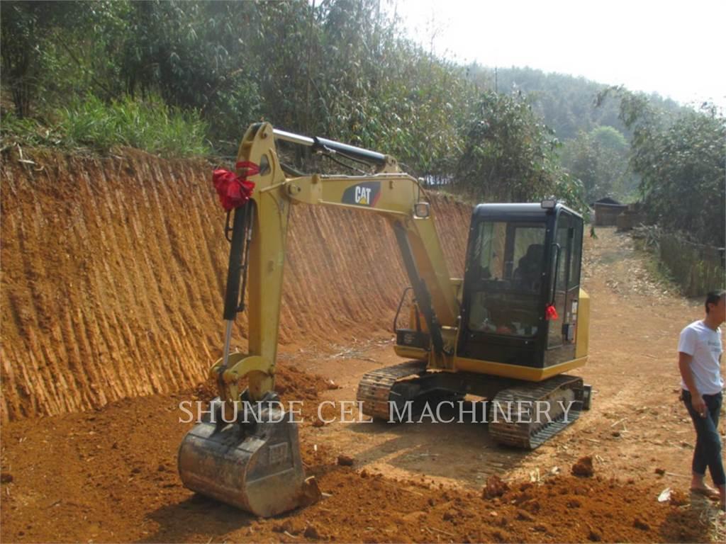 Caterpillar 305.5E2, Escavadoras de rastos, Equipamentos Construção