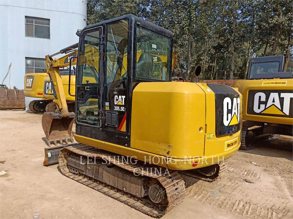 Caterpillar 305.5E2, Crawler Excavators, Construction
