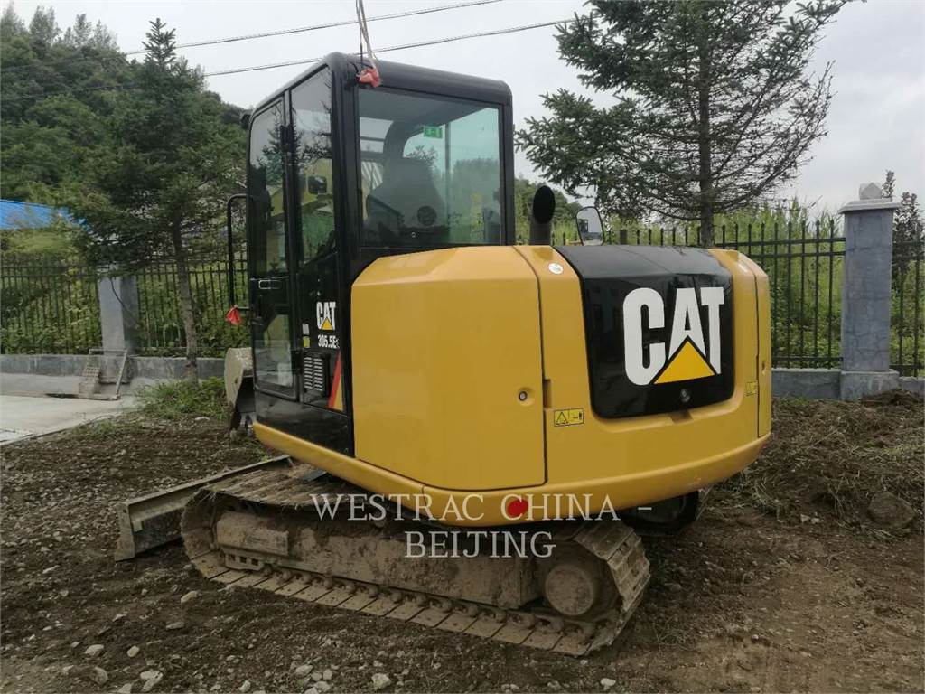 Caterpillar 305.5E2, Excavadoras de cadenas, Construcción