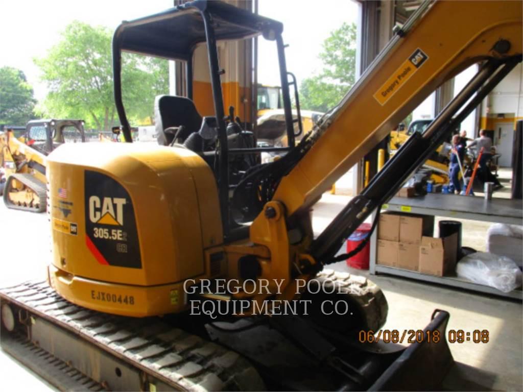 Caterpillar 305.5E2 CR, Pelle sur chenilles, Équipement De Construction