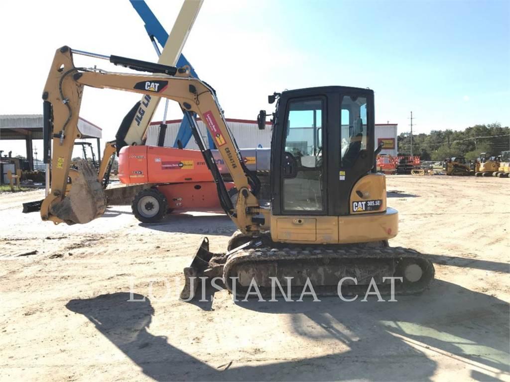 Caterpillar 305.5E2 CR, Crawler Excavators, Construction