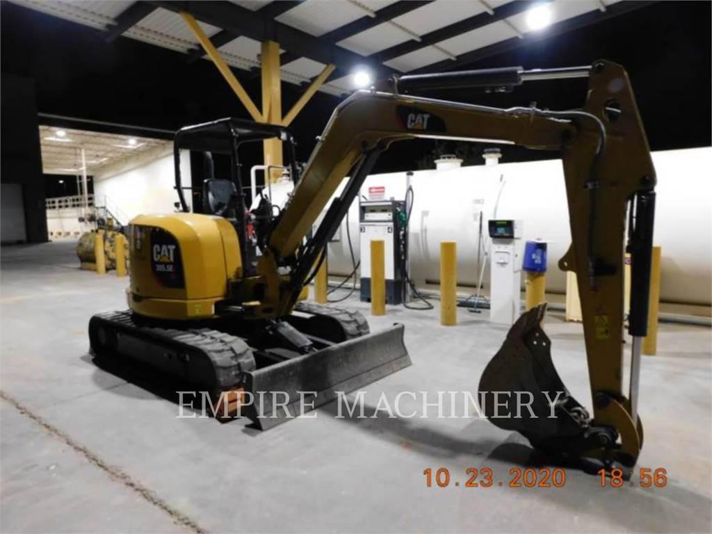 Caterpillar 305.5E2 OR, Excavatoare pe senile, Constructii