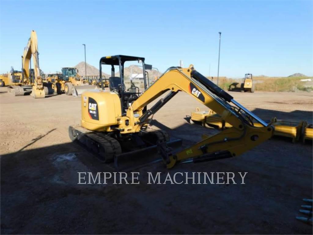 Caterpillar 305.5E2 OR, Escavadoras de rastos, Equipamentos Construção