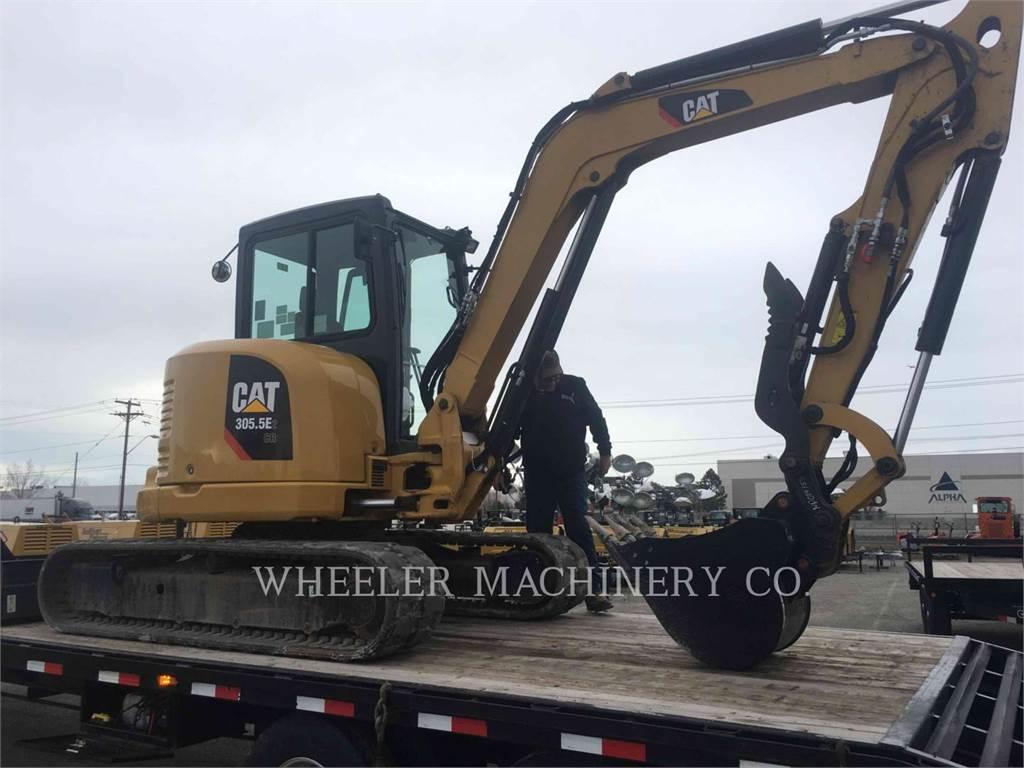 Caterpillar 305.5E2C3T, Raupenbagger, Bau-Und Bergbauausrüstung