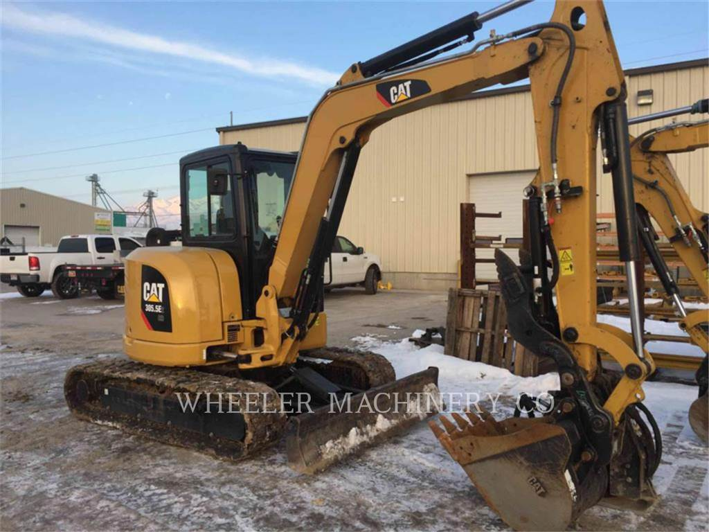 Caterpillar 305.5E2C3T, Excavadoras de cadenas, Construcción