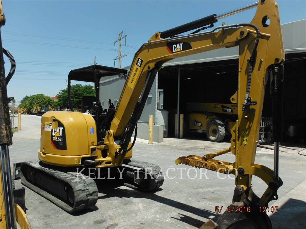 Caterpillar 305.5E2CR, Koparki gąsienicowe, Sprzęt budowlany