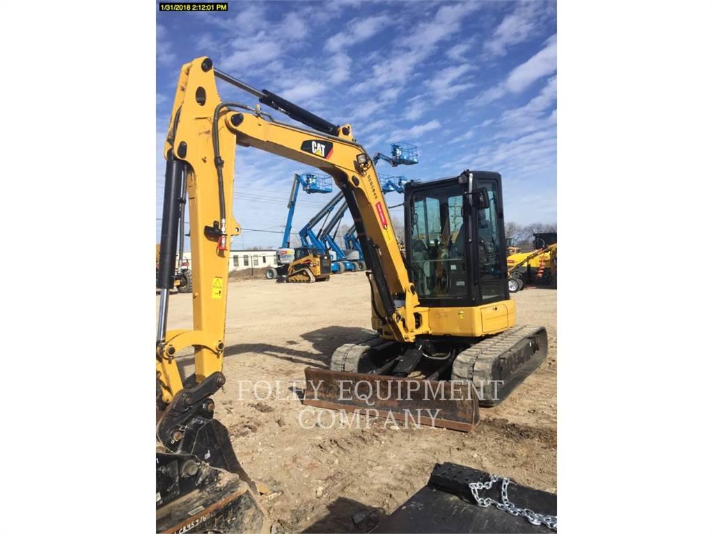 Caterpillar 305.5E2CR、クローラー式油圧ショベル(パワーショベル・ユンボ)、建設
