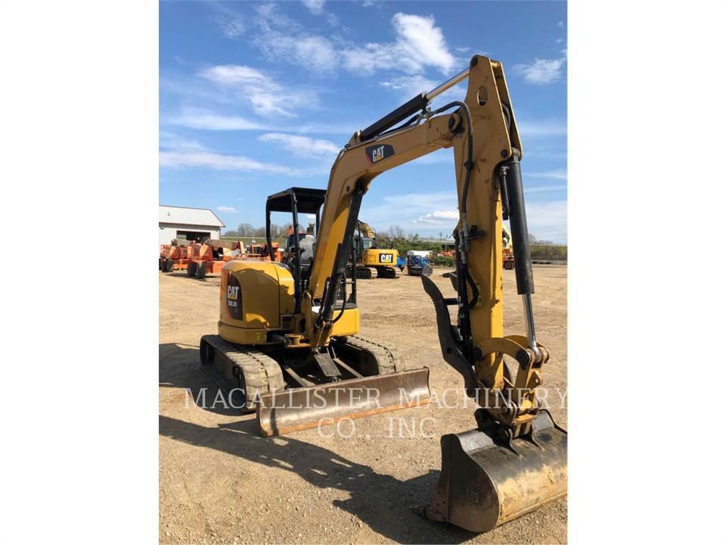 Caterpillar 305.5E2CR, Escavadoras de rastos, Equipamentos Construção