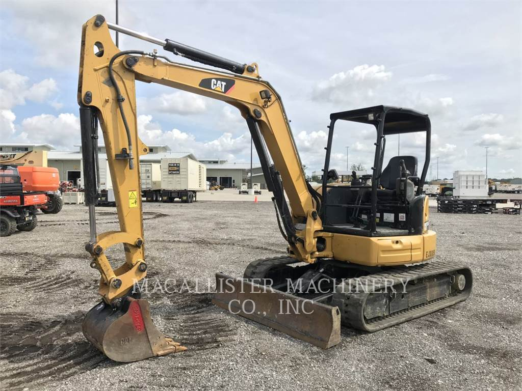 Caterpillar 305.5E2CR, Rupsgraafmachines, Bouw